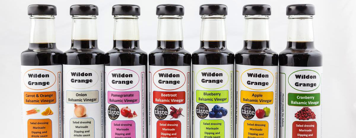 Wildon Grange Flavoured Vinegars
